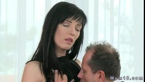 tyne tits black hair milf in tasty stockings small tits
