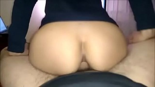 Anal Homemade hot anal ride to a college yellow hair
