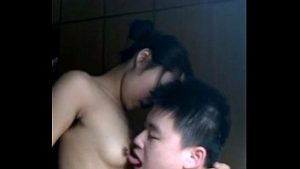 Asian Homemade asian cutie displays off her pumping skills