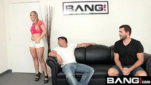 Double Penetration applegate takes her cavities filled and cheek