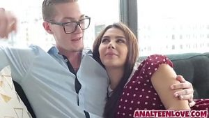 Very Beautiful truly lucky dude takes to pump valentina nappi in